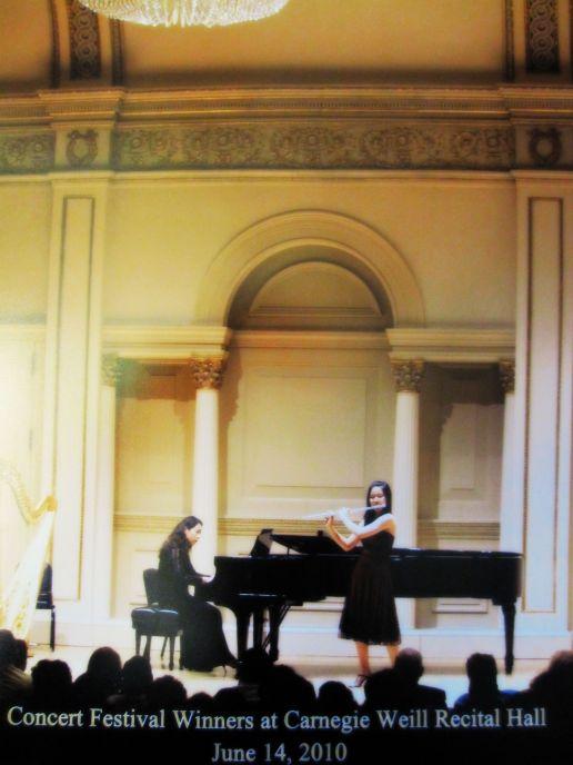 Hinano Ishii Weil Recital Hall Carnegie HallJune 2010