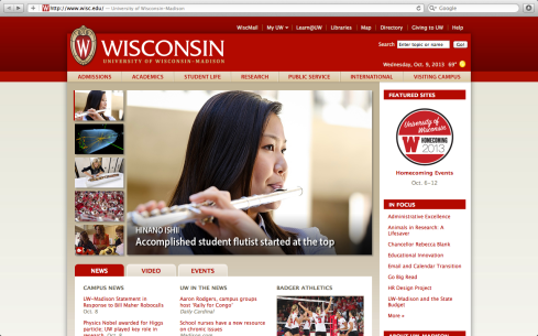 Hinano Ishii was recently featured on University of Wisconsin-Madison's homepage.