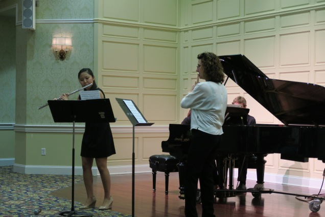 Senior Recital performing duet with Stephanie Jutt